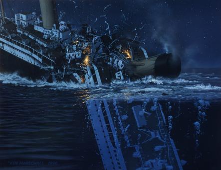Vos peintures préférées de Ken Marschall Night_T1996d_KM_sinking